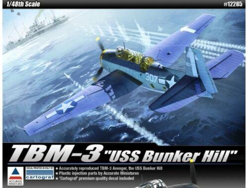 Academy TBM-3 Avanger USS Bunker Hill 1:48 (12285)