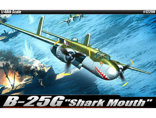 Academy B-25G Shark Mouth 1:48 (12290)