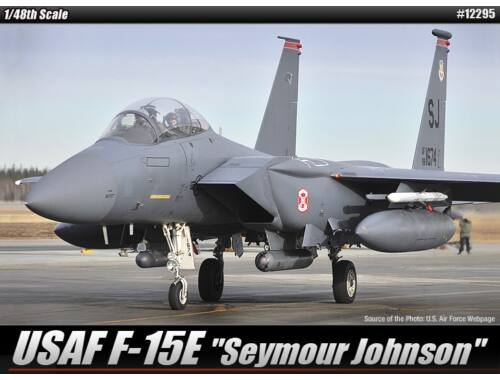 Academy F-15E Seymour Johnson 1:48 (12295)