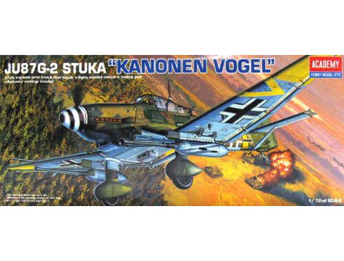 Academy Ju-87G-2 Stuka Kanonen vogel 1:72 (12404)