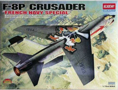 Academy F-8P Crusader French Navy Special 1:72 (12559)