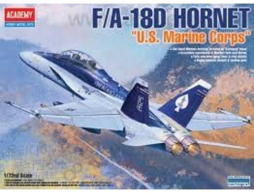 Academy F/A-18D Hornet US Marines 1:72 (12422)