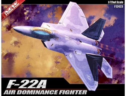 Academy F-22A Air Dominance Fighter 1:72 (12423)