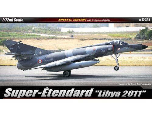 """Academy Super Étendard """"Lybia 2011"""" 1:72 (12431)"""