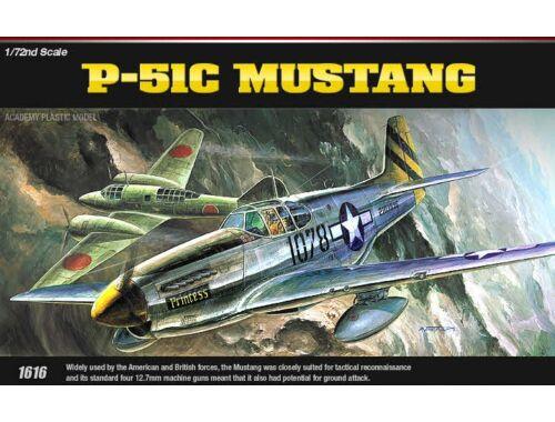 Academy P-51C Mustang 1:72 (12441)