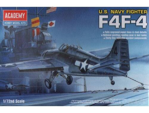 Academy Grumman F4F-4 Wildcat U.S. Navy 1:72 (12451)