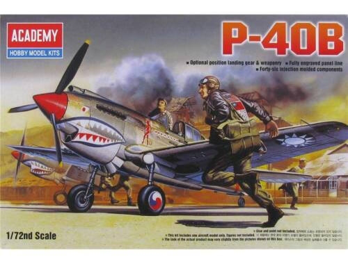 Academy Curtiss P-40B 1:72 (12456)