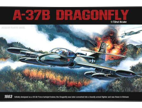 Academy A-37B Dragonfly 1:72 (12461)