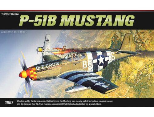Academy P-51B Mustang 1:72 (12464)