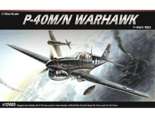 Academy P-40M/N Warhawk 1:72 (12465)
