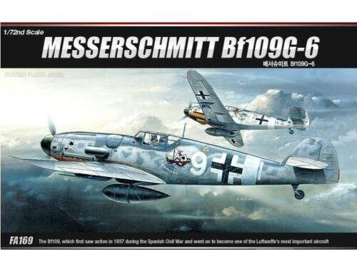 Academy Messeschmitt Bf-109G-6 1:72 (12467)