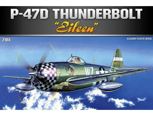 Academy P-47D Thunderbolt Eileen 1:72 (12474)