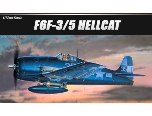 Academy Grumman F6F-3:5 Hellcat 1:72 (12481)
