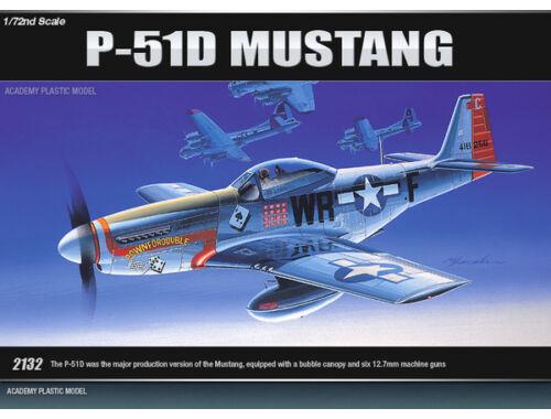 Academy P-51D Mustang 1:72 (12485)