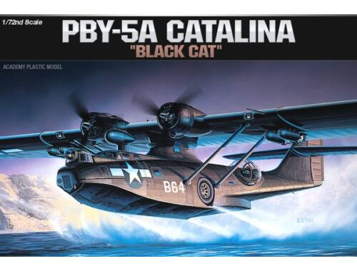 Academy PBY-5A Black Cat 1:72 (12487)