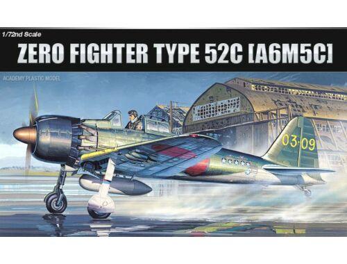 Academy A6M5c Zero Fighter 1:72 (12493)