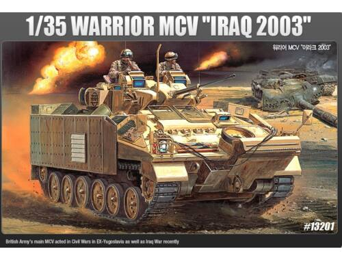 "Academy Warrior MCV ""Iraq 2003"" 1:35 (13201)"