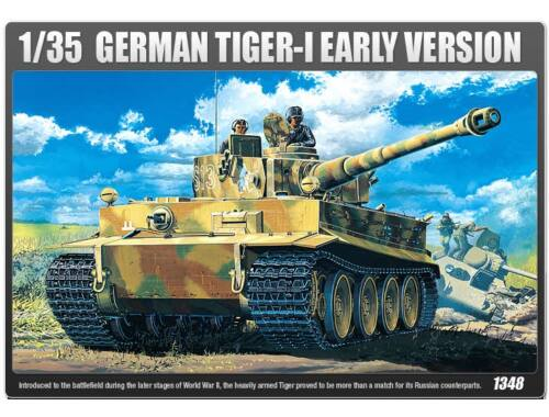 Academy Tiger I Early   Interior 1:35 (13239)
