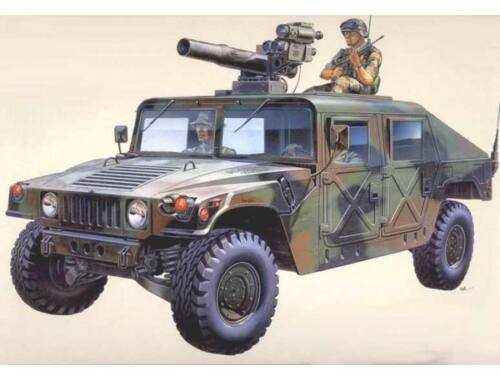 Academy M-996 Hummer w/TOW 1:35 (13250)