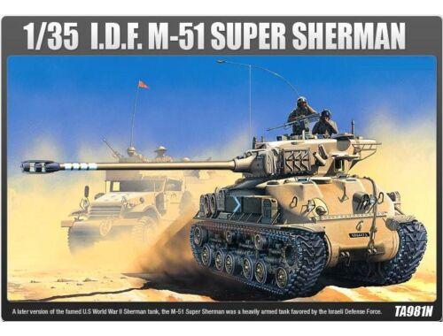 Academy IDF M51 Super Sherman 1:35 (13254)