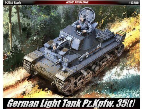 Academy German Light Tank Pz.Kpfw. 35(t) 1:35 (13280)