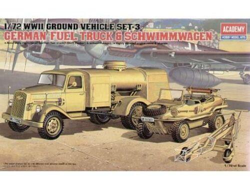 Academy Fuel Truck Schwimmwagen 1:72 (13401)