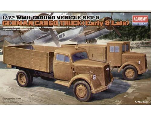 Academy Cargo Trucks (1 Early 1 Late) 1:72 (13404)