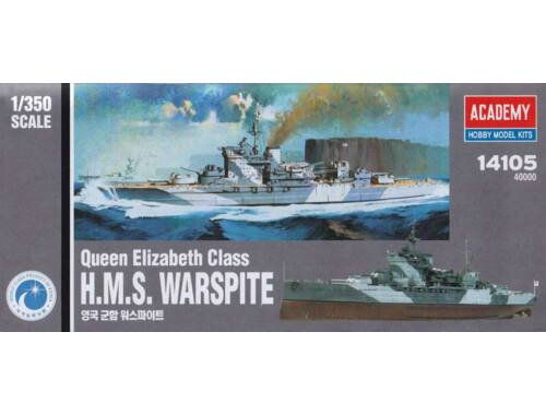 Academy HMS Warspite 1:350 (14105)