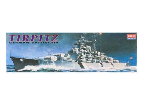 Academy Tirpitz Battleship (Motorized) 1:800 (14211)