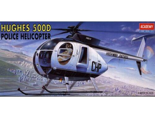 Academy Hughes 500D Police Helikopter 1:48 (12249)