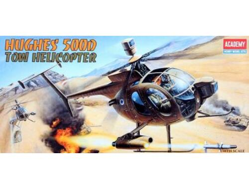 Academy Hughes 500D Tow Attack Helikopter 1:72 (12250)