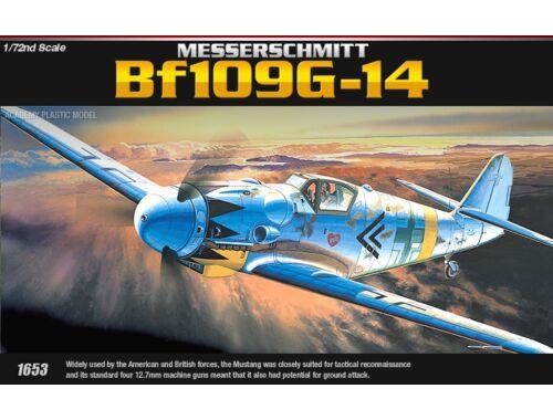 Academy Messerschmitt Bf-109G-14 1:72 (12454)