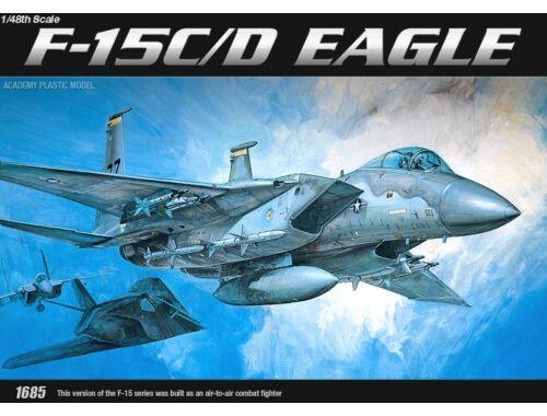 Academy F-15 C/D Eagle 1:48 (12257)