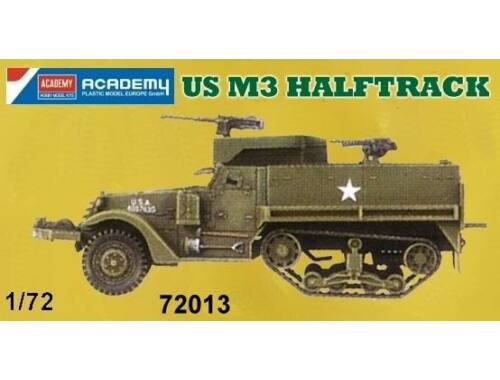 Academy US M3 Halftrack 1:72 (72013)