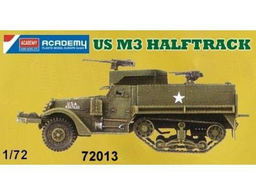 Academy US M3 Halftrack 1:72 (72013)