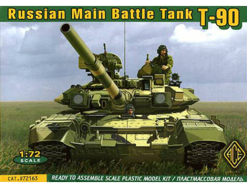 ACE T-90 Modern Russian MBT 1:72 (72163)