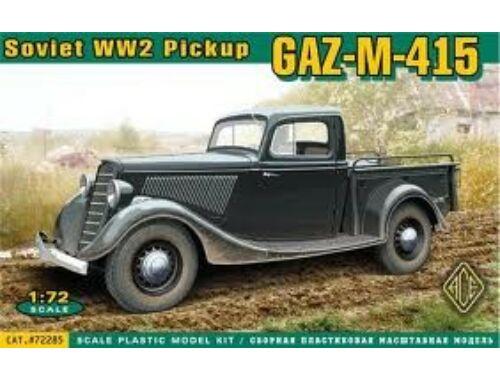 ACE GAZ-M-415 Soviet WWII pickup 1:72 (72285)