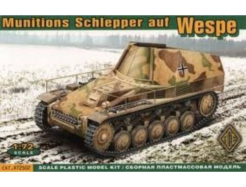 ACE Munitions Schlepper auf Wespe 1:72 (72502)