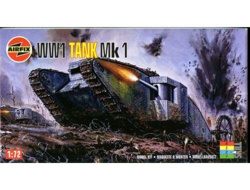 Airfix WW I Tank Mk. 1 1:76 (A01315)