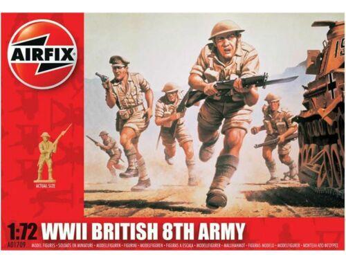 Airfix British Infantry / 8th Army 1:72 (A01709)
