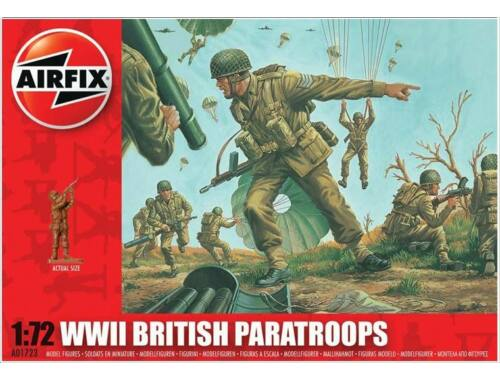 Airfix British paratroopers 1:72 (A01723)