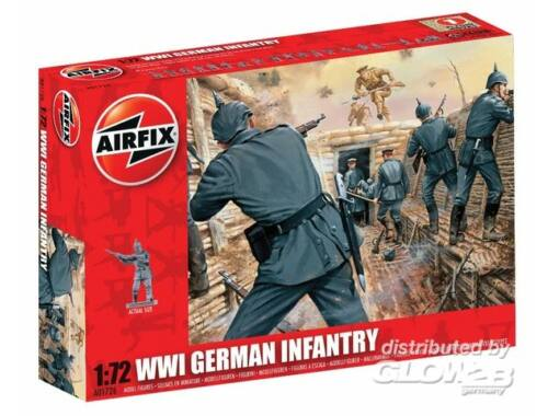 Airfix WW1 GERMAN Infantry 1:72 (A01726)