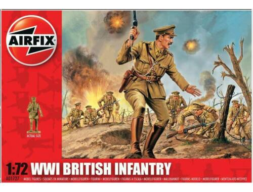Airfix WW1 BRITISH Infantry 1:72 (A01727)