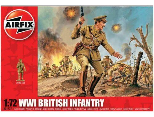 Airfix WW1 BRITISH Infantry 1:72 (A01727)