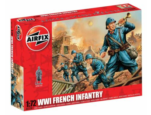 Airfix WW1 FRENCH Infantry 1:72 (A01728)