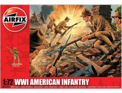 Airfix WW1 US Infantry 1:72 (A01729)
