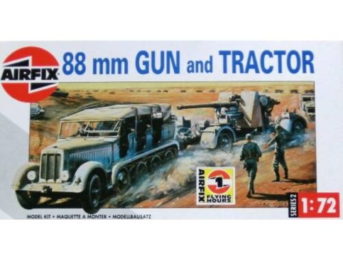 Airfix 88mm Gun and Tractor 1:76 (A02303)