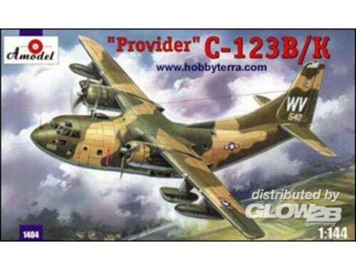 Amodel C-123B/K 'Provider' USAF aircraft 1:144 (1404)
