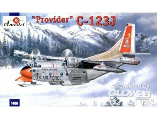 Amodel C-123J 'Provider' USAF aircraft 1:144 (1406)