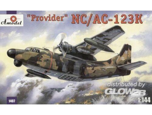 Amodel NC/AC-123K 'Provider' USAF aircraft 1:144 (1407)